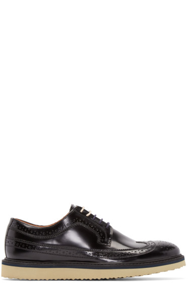Tiger of Sweden - Black Shine Charly 21 Brogues