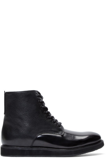 Tiger of Sweden - Black Leather Charly 11 Boots