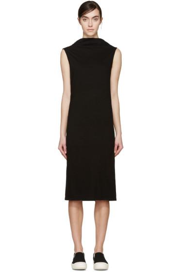Rick Owens Drkshdw - Black Jersey Marella Dress
