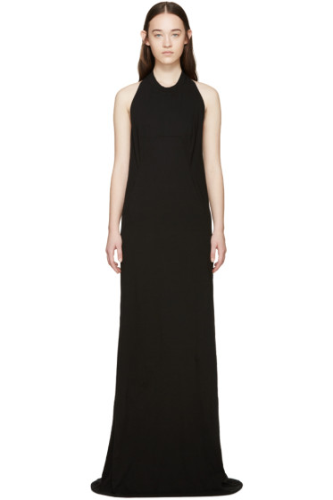 Rick Owens Drkshdw - Black Halter Dress