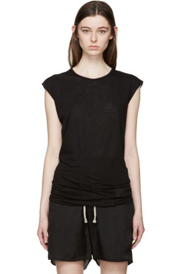 Rick Owens Drkshdw - Black Long T-Shirt