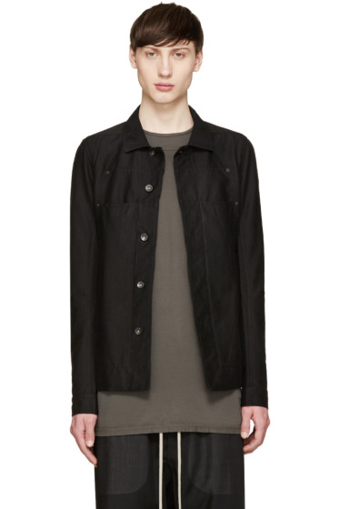 Rick Owens Drkshdw - Black Lab Jacket
