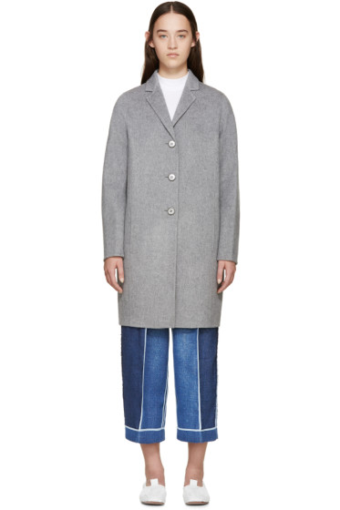 Acne Studios - Grey Elsa Doublé Coat