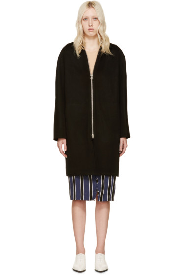 Acne Studios - Black Wool & Cashmere Emile Coat