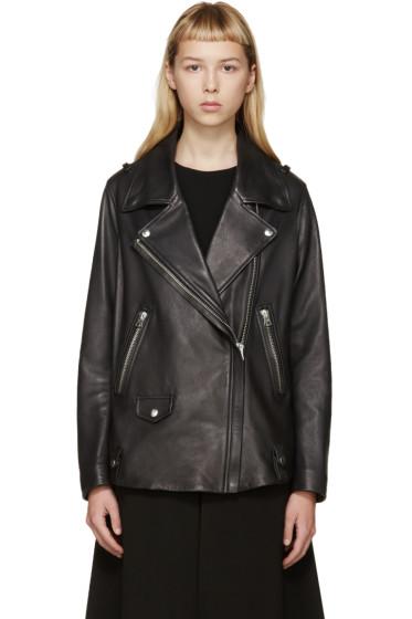 Acne Studios - Black Leather Swift Jacket