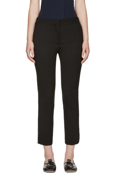 Acne Studios - Black Cropped Saville Trousers
