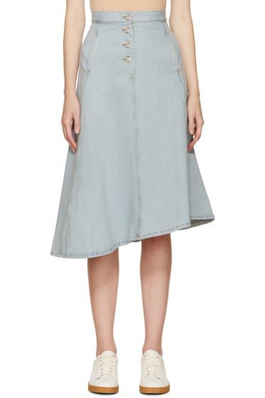 Acne Studios - Blue Denim Kady Skirt