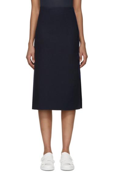Acne Studios - Navy Laelia Panama Skirt