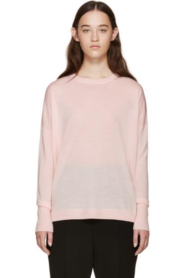 Acne Studios - Pink Merino Wool Carel Sweater