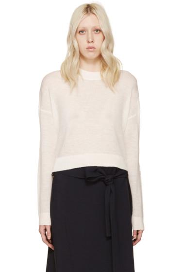Acne Studios - White Alpaca Ryssa Sweater