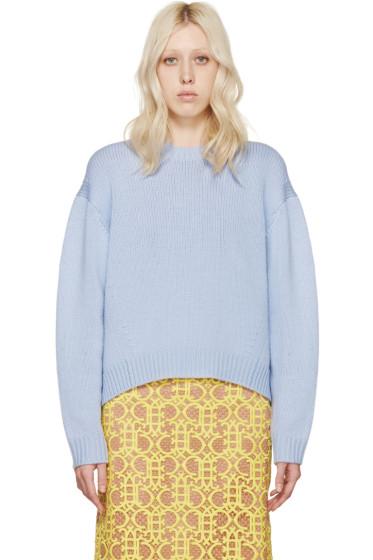 Acne Studios - Blue Wool Shora Sweater