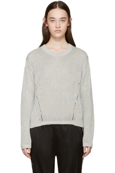 Acne Studios - Grey Knit Phora Sweater