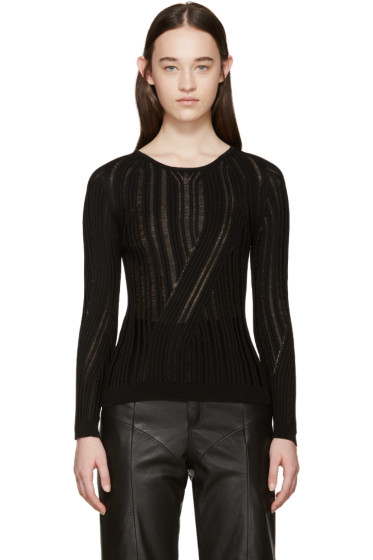 Acne Studios - Black Marcy Mouline Sweater