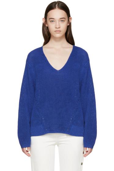 Acne Studios - Blue Deborah Chunky Sweater