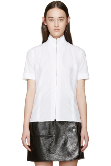 Acne Studios - White Mahina Pop Shirt