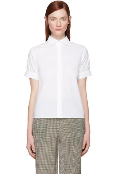 Acne Studios - White Piqué Morag Shirt