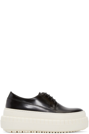 Acne Studios - Black & White Sacha Sneakers