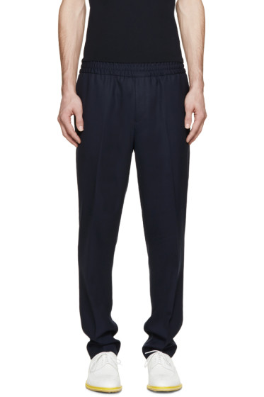 Acne Studios - Navy Wool Ryder Travel Trousers