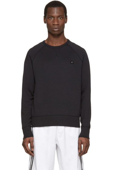 Acne Studios - Black College Face Sweatshirt