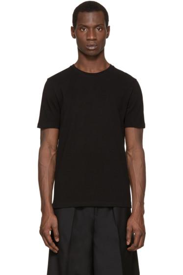 Acne Studios - Black Eddy Piqué T-Shirt