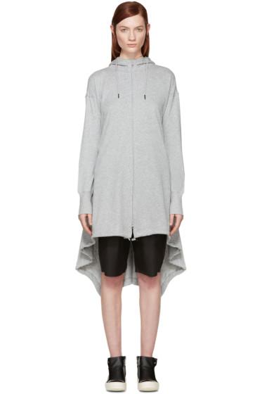 Y-3 - Grey Long Summer Hoodie