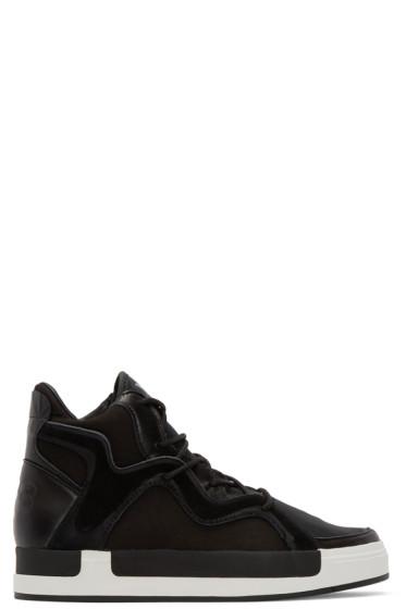 Y-3 - Black Riyal III High-Top Sneakers