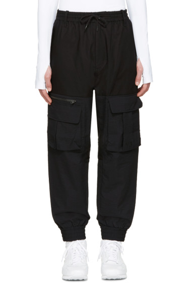 Y-3 - Black Air Mesh Cargo Pants