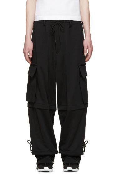 Y-3 - Black Convertible Cargo Pants