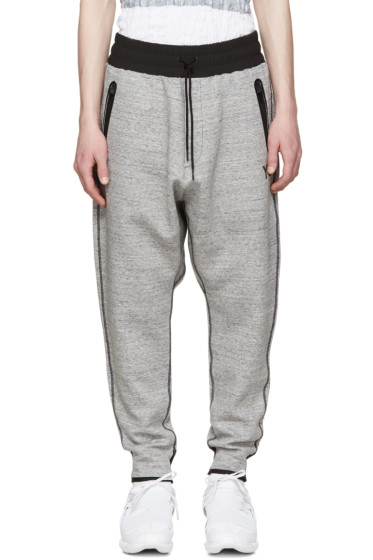 Y-3 - Grey Digital Lounge Pants