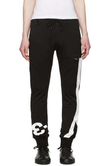 Y-3 - Black Logo Lounge Pants