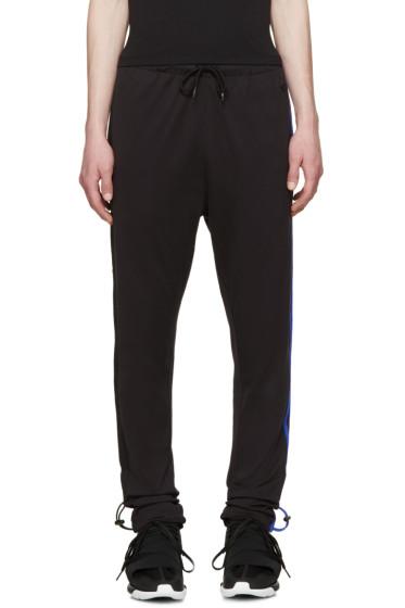 Y-3 - Black Striped Lounge Pants
