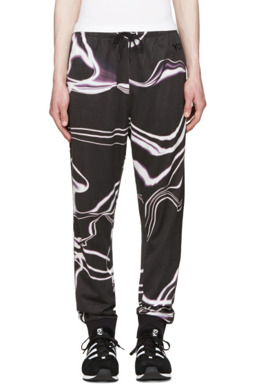 Y-3 - Grey Motion Long John Lounge Pants
