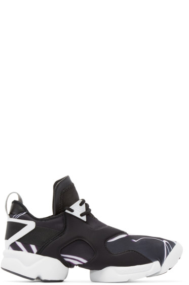 Y-3 - Black & Multicolor Neoprene Kohna Sneakers