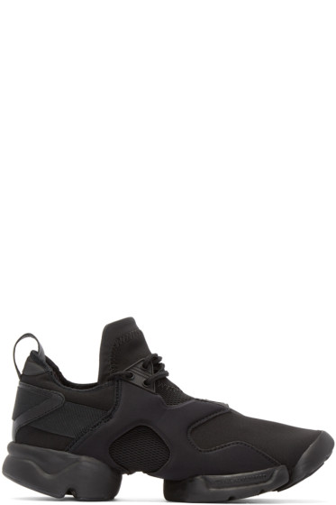 Y-3 - Black Neoprene Konha Sneakers