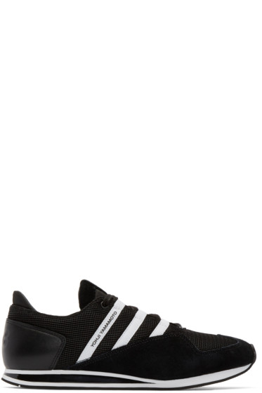 Y-3 - Black & White Kyoshu Run Sneakers