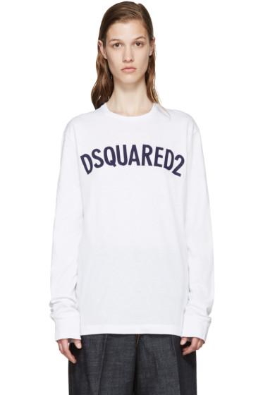 Dsquared2 - White Logo T-Shirt