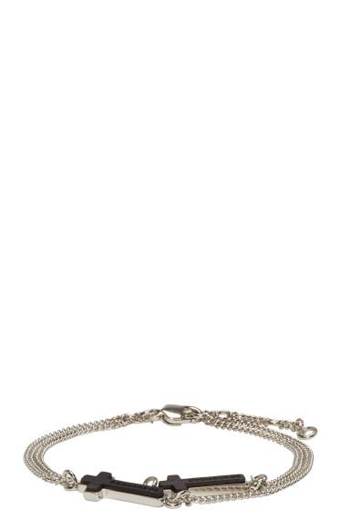 Dsquared2 - Silver Cross Bracelet