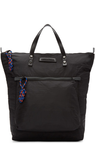 Dsquared2 - Black Nylon Tote