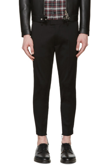 Dsquared2 - Black Skinny Techno Trousers