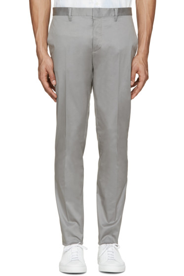 Dsquared2 - Grey Raw Hem Trousers