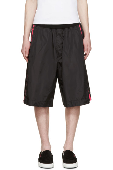 Dsquared2 - Black Neon Stripe Shorts