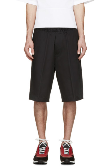 Dsquared2 - Black Racing Stripe Shorts
