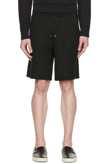 Dsquared2 - Black Cotton Shorts