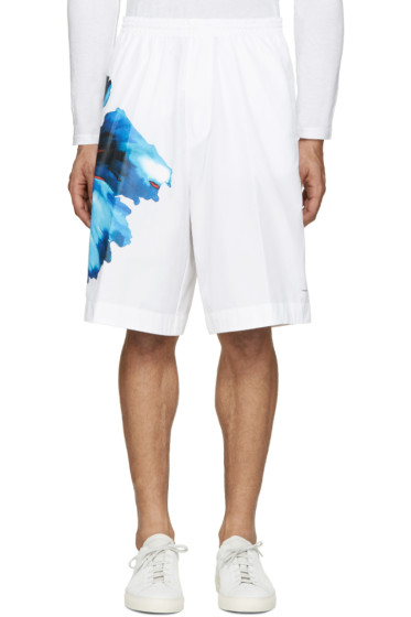 Dsquared2 - White Flower Print Shorts