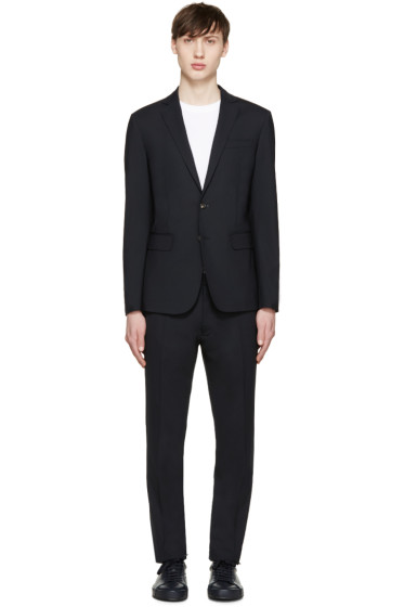Dsquared2 - Navy Wool Paris Suit