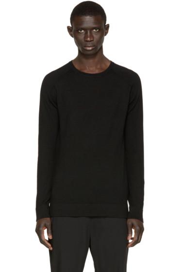 Helmut Lang - Black Wool Sweater