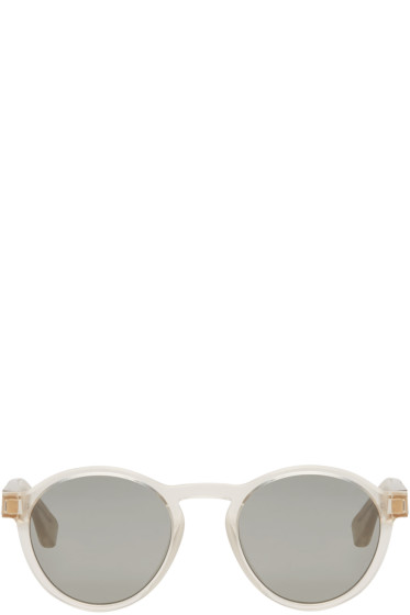 Maison Margiela - Clear MYKITA Edition Raw Sunglasses
