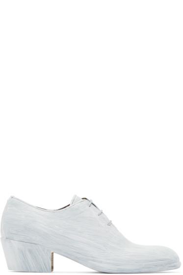 Maison Margiela - White Painted Blanchette Oxfords