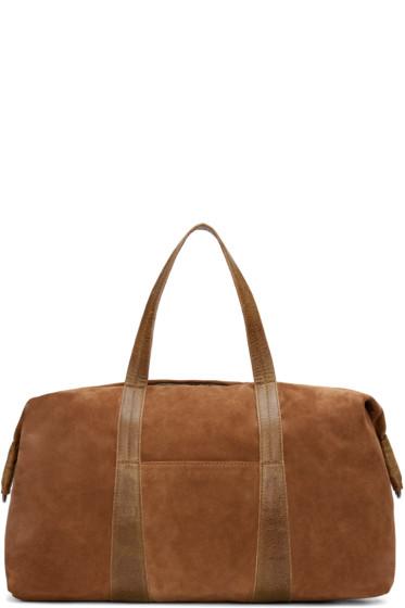 Maison Margiela - Brown Suede Travel Bag