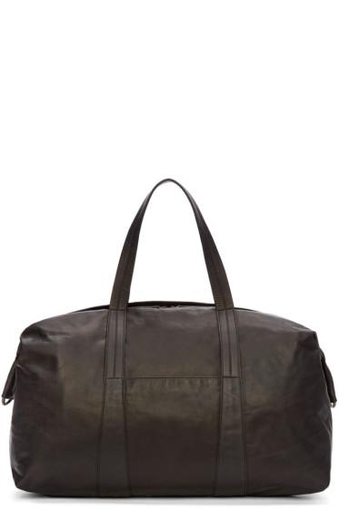 Maison Margiela - Black Leather Travel Bag
